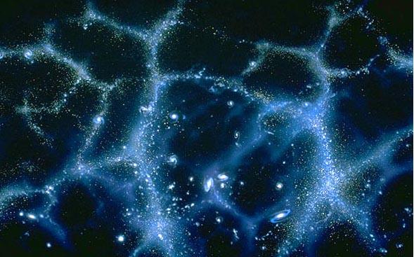 structure de l'univers a tres grande echelle